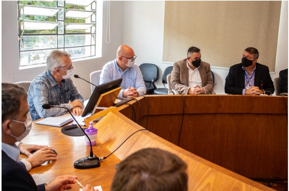 Corsan apresenta Ambiental Metrosul aos prefeitos da RMPA