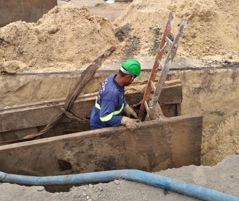 Primeiros meses de atuação da Metrosul em Esteio contemplam implantação de nova rede de esgoto e melhorias no sistema